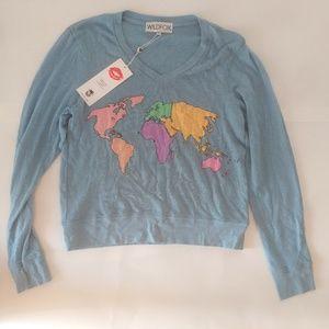 Wildfox Blue World Sweater